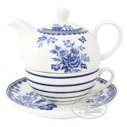 Tea for one Blue butterfly