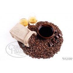 Kawa wiśnie w rumie