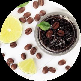 Złuszczający peeling z kawy